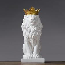 Lion Statues home Decoration anima Model Nordic Resin Figurine Sculpture Statue