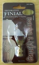 """New listing Brass teardrop 3"""" Inch Lamp Finial by Patriot Lighting New in packaging"""