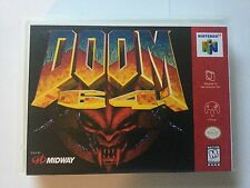 Universal N64 Replacement Case (NO GAME) Doom 64 - Nintendo 64
