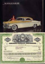 CHRYSLER FINANCIAL CORP Michigan 1976 plus original vintage ad