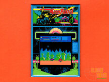 "Moon Patrol marquee bezel screen 2x3"" fridge/locker magnet Williams arcade"