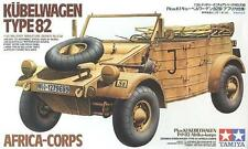 Tamiya 35238 1/35 Scale Model Kit German  VW Type 82 Kübelwagen Africa Corps