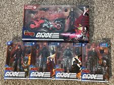 GI Joe Classified Cobra Island Baroness, Major Bludd, Viper, Firefly, Trooper