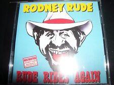 Rodney Rude - Rodney Rude – Rude Rides Again! (Australia) Comedy CD – New