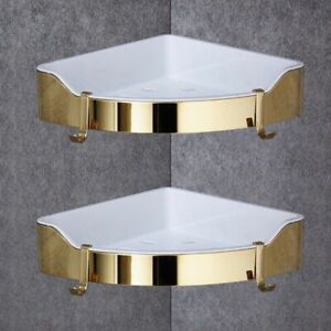 Multiple Level Color Corner Circular Shelf Holder For Bathroom Shampoo Bottle