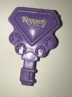Vintage TONKA 1980s KEYPERS Purple KEY ONLY For Diamond Horse Pony Brush