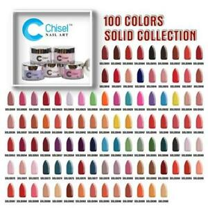 Chisel Dipping/Acrylic Powder - Solid Collection 2oz (From 1 to 100)