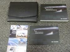 2011 Hyundai Sonata Sedan Owner Owner's  Manual User Guide GLS SE Limited