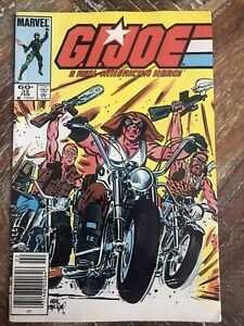 Gi Joe 32 1st Appearance Lady Jaye Newstand