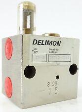 DELIMON ZV-B Hydraulikventil Hydraulic Valve Schmierstoffverteiler 35712-3311