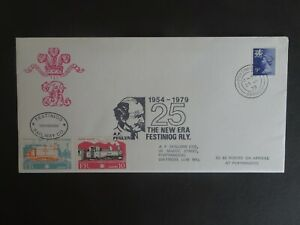 RWC Festiniog Railway Co. First Day Cover Railway Letter dated 1979