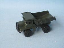 Lesney Matchbox Mack Tipper Truck Dark Olive Drab Army Military Toy Construction