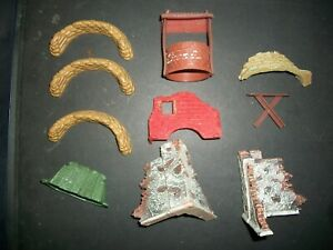 VARIOUS SCENERY PIECES BY SPEEDWELL, FORCES OF VALOR AND OTHERS