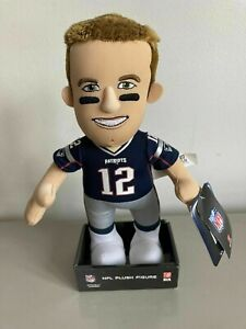 NEW Tampa / Patriots Tom Brady Bleacher Creature 10 Inch Doll Plush Figure / Box