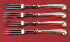 Queen Anne-Williamsburg by Stieff Sterling Silver Fruit Fork Set 4pc Custom 6""