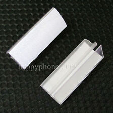 40* Clear Plastic Table  Skirting clip Desk Cloth Clamps Tableware Decor