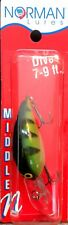 """Norman Lures 3/8 oz. 2"""" Perch Gelcote Middle N #GMN-250 Dives 7-9 ft."""