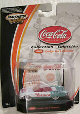 Matchbox Collectibles Coca Cola Dodge Dart Phoenix ( Things go Better with COKE)