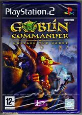 PS2 Goblin Commander Unleash the Horde (2004) UK Pal, New & Sony Factory Sealed