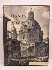 Di Massimo: ETERNITA' DI ROMA 1965 Editalia In Folio ed num bronzo UNGARETTI