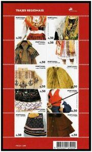 PORTUGAL SOUVENIR SHEET BLOCK 2007 - Yt:PT 3104-3113 - MNH