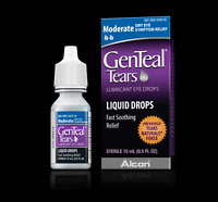 GenTeal Tears Lubricant Eye Drops For Dry Eye Relief - Moderate - by Alcon -15mL