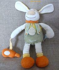 Doudou et compagnie ***Doudou chien/dog Hector avec guitare Beige orange beige