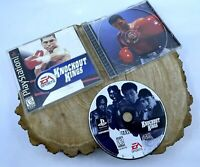 Knockout Kings 2001 (PlayStation 1, 2000) PS1 Tested Complete