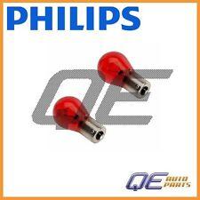 Saab 9-3 Set of 2 PHILIPS OEM Light Bulb Red 12 767 403New