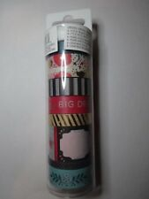 """Recollections Washi Crafting Tape """"Floral 2"""", 8 Rolls 60 Yards 496414 Foil"""