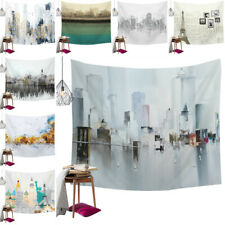Art Tapestry Landscape Architecture Printed for Wall Hanging Home Bedroom Decors