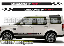 Land Rover Discovery 001 side racing stripes decals graphics stickers 1 2 3 4x4