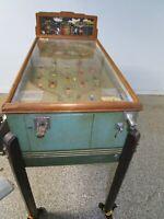 Vintage Original PAMCO Speedway Pinball Machine 1936 Payout Pacific Amusement Co