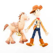 "Disney Toy Story Cowboy Woody 20"" & Horse Bullseye Plush stuffed animal"