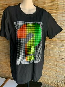 Mens t shirt.Size M/L.106cm chest.? and ace print front and back.100% cotton.New