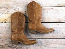 Womens Silverado Western Cowboy Boots Tan 8.5 Rubber Sole Cowgirl Fit Like Sz 8