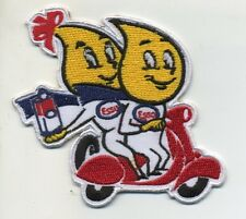 esso patch badge motor oil gasoline drip scooter hot rod drag race retro
