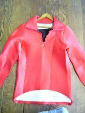 Vtg Nashbar/Sandia Ladies Cycling Red Shirt Medium