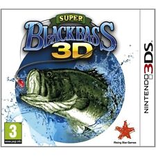 Super Black Bass 3D Game 3DS Nintendo 3DS and 3DS XL PAL Brand New