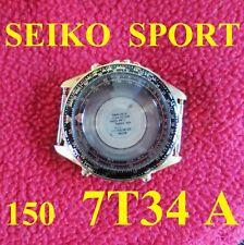 cassa seiko quartz sport 150 cal. 7t34 7t34A 6a00 case watch chronograph steel