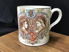 Antique Queen Victoria Diamond Jubilee Commemorative Mug Coffee Cup Wedgwood &Co