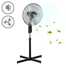 Standventilator Ø41cm Ventilator Luftkühler Windmaschine oszillierend schwarz