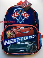 Cars 3 Lightning McQueen Backpack Disney Kids Boys Daycare Preschool SLEEPOVER