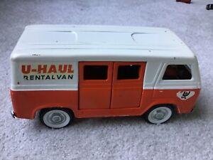VINTAGE NYLINT METAL U-HAUL RENTAL VAN. GOOD CONDITION.