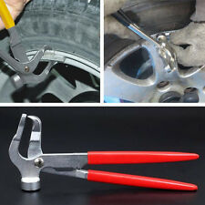 Car Auto Tires Wheel Weight Pliers Balancer Hammer Tool Remover Plier Red Handle