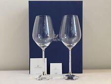 Swarovski Wine Glasses 1095948 Set Bicchieri Vino NUOVO