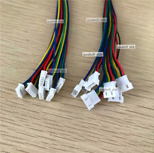 20 Pairs Micro JST 1.25 5 Pin Male and Female Connector plug with Wires Cables