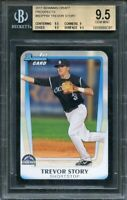 2011 bowman draft prospects #bdpp84 TREVOR STORY rookie (pop 1) BGS 9.5