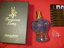 Ashleigh & Burwood Glass Large Fragrance Lamp  LILAC TWIST HANDCRAFTED WITH BOX