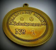 GÖDE Orden Polizeiabzeichen Sammlung Polizeiamt MAINZ Schutzmann no.1 1937